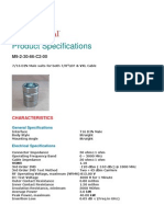 Data Sheet of Din _M_ 78 Connector-Nokia