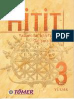 Tömer Yeni HİTİT 3 Yabancılar İçin Türkçe Çalışma Kitabı With Audio 2010