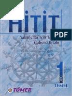 Tömer Yeni HİTİT 1 Yabancılar İçin Türkçe Çalışma Kitabı With Audio 2010