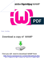 Installing and Configuring a WAMP