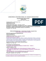 ConferÊncia Internacional de Cidades Inovadoras