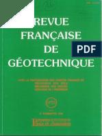 Revista Francesa de Geotecnia