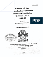 Annals of the Bhandarkar Oriental Research Society Vol. 21, 1939-40, parts 1-2Vol_21_1939-40_parts1-2