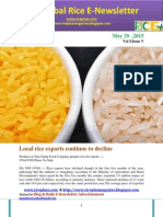 29th May (FridDay),2015 Daily Global Rice E-Newsletter by Riceplus Magazine