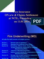 NIC Fire Insurance Ppt