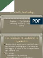Ppa 577 Adm 612 Lecture 1