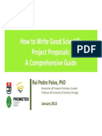 Projects - How to Write