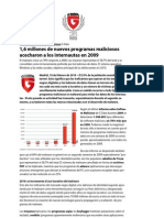 G Data Antivirus Informe de Malware 2009_feb09