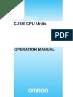 W395 E1 03+CJ1M+Operation Manual
