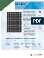 Solarwatt m230-96 Get Ak Span