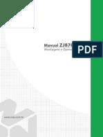 Manual Máquina Zoje