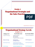 M04p - Organizational Strategies and the Sales Function