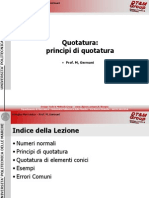 Quotatura 2 - Principi Di Quotatura