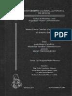 Bruno Peron Loureiro - Néstor García Canclini y la interpretación de América Latina