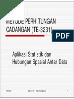 Materi-MPC-06-Aplikasi Statistik Dan Hubungan Spasial Data