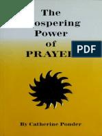 The Prospering Power of Prayer