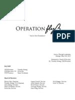 Operation Fly Strategic Plan
