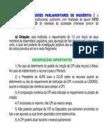 Cpi - Regimento Interno - Complemento