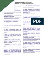 Gabarito - Questões Fcc - Simulado 1