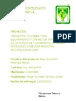 Proyecto de Ing. Ambiental