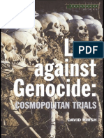 Law Against Genocide Cosmopolitan Trials (Criminology)