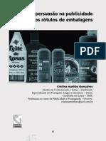 Ética e Persuasão na publicidade dos rótulos de embalagens.