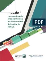 M4 - L4 - La Estructura de Financiamiento y Un Breve Análisis Del Capital de Trabajo