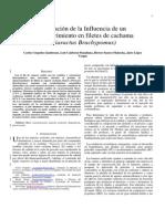 Evaluación de La Influencia de Un Biorecubrimiento en Filetes de Cachama (Piaractus Brachypomus)