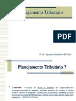 Planejamento Tributário - Apresentação