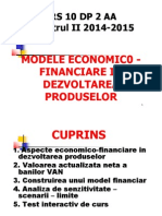 Modele Economic0 Financiare