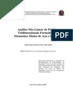 4-Análise Não-linear de Pórticos Tridimensionais Formados Por Elementos Mistos de Aço e Concreto - 2007