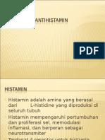 Presentasi Antihistamin