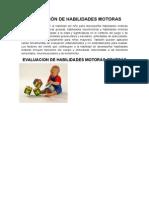 To Pediatria Evaluación de Habilidades Motoras