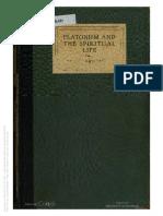 platonism and the spiritual life, by george santayana