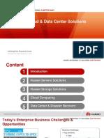 1 Huawei IT, Cloud Data Center Solution High Level Main Slide V1.0