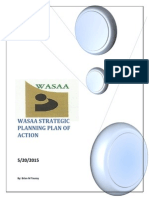 WASAA's Strategic Planning Plan of Action