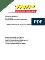 APS DESENVOLVIMENTO DE UMA APLICAÇÃO DE BUSINESS INTELLIGENCE 2015