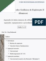 Métodos Geofísicos de Exploração II (Sísmicos) - Aula 1_&_2