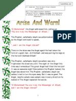 Arise and Warn (Hadeeth Story)