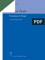 Vittorio Hösle-Il Sistema Di Hegel-La Scuola Di Pitagora (2012)