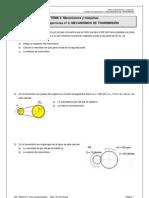 3º ESO_Tema 3_Actividades Mecanismos de transmisión