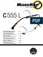 AKG C555L