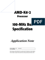 AMD 100mhz Super-7 Bus Specs