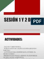 Sesión 1 y 2 de 8