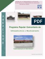 Programa Popular Comunitario de Infraestructura y Equipamiento Educativo de Oaxaca