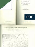Rico-Analisis y Critica en Historiografia
