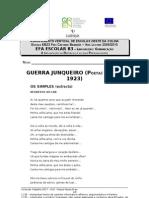 Ficha de trabalho nº17-Textos