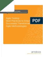 AMDOCS WHITEPAPER_Agile Testing Whitepaper