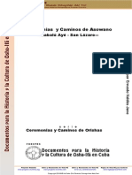 Ceremonias y Caminos de Asowano-Babalú Ayé - San Lázaro