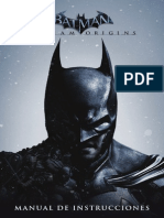 Manual de Batman Akham Origins